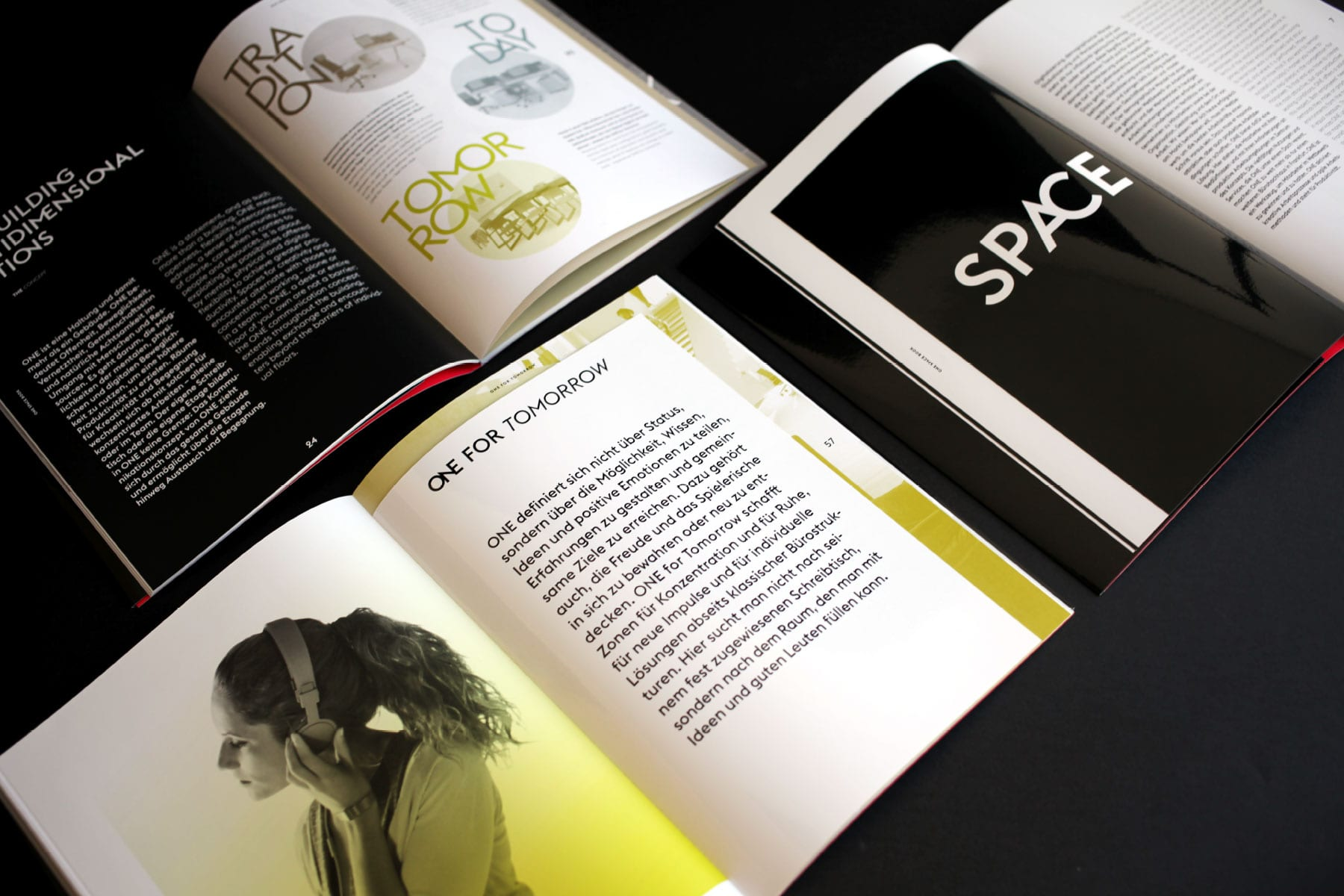 Branding-Kampagne ONE by CA Immo Spacebook Overview
