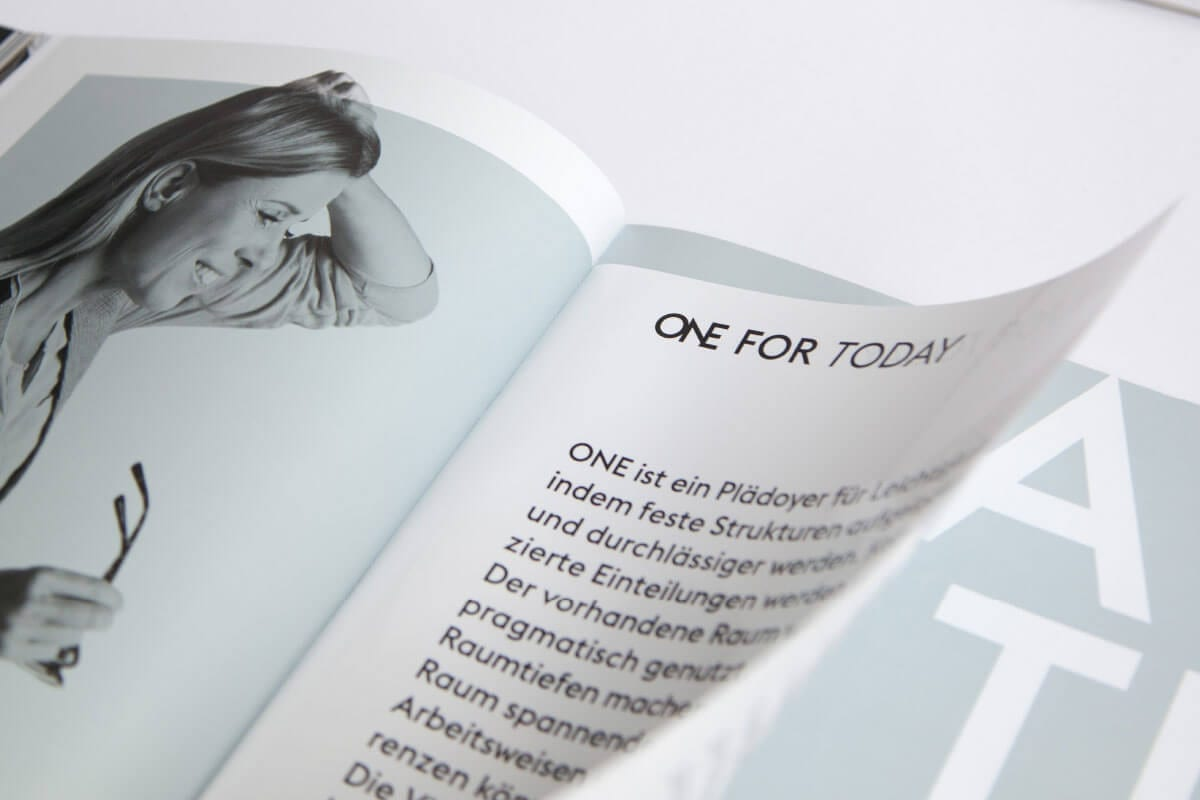 Branding-Kampagne ONE by CA Immo Space Book Today